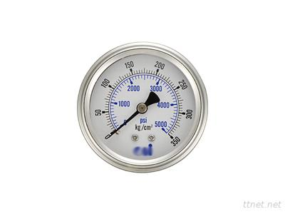Oil-Filled Embedded All-Stainless Steel Pressore Gauges